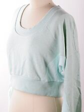 $100 Adidas by Stella McCartney Yoga Sweatshirt Long Sleeve Top Green Women's L