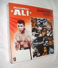 THE GREATEST Muhammad Ali 1,000 Piece Collage Jigsaw Puzzle New Sealed FREE SHIP