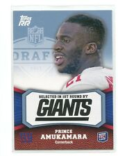 2011 Topps Rising Rookies BLUE #114 Prince Amukamara/1339 New York Giants