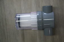 INLINE SOLAR FILTER CARTRIDGE FOR SOLAR POOL OR SPA HEATING