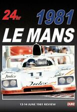 Le Mans 1981 - Review (New DVD) The Worlds greatest 24 Hour Endurance race