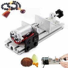 Mini Pearl Beads Wood Drilling Tool Holing Machine Craft Jewelry Punch Drill 50V
