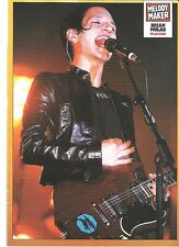PLACEBO Brian in leather magazine PHOTO / mini Poster 11x8""