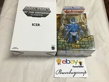 NEW MASTERS Icleeel of the Outer Stilia Icer Figure Evil Master of Cold