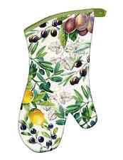 "Michel Design Works ""TUSCAN GROVE"" Oven Mitt - Grapes, Lemons"