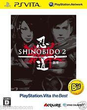 Shinobido 2: Sange The Best PS Vita SONY JAPANESE NEW JAPANZON