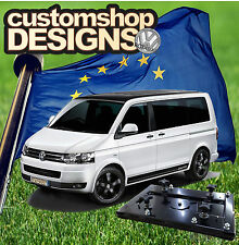 VW T5 Transporter Camper Van Double Seat Swivel Base (LHD European Model)