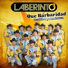 DAMAGED ARTWORK CD Laberinto: Que Barbaridad