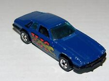 Hot Wheels Jaguar XJS Blue - Metal Base Tinted Windows BW's - Malaysia 1982