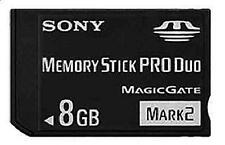 New 8GB Mark2 Memory Stick Card MS Pro Duo For SONY PSP CAMERA One Year Warranty