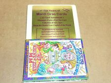 Mardi Gras Collector Cards, Un-Opened, 1/2 Case, 20 (12 Card Packs), 240 Cards