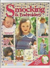 Australian Smocking & Embroidery - Issue 19 - Summer 1992 - Very Rare