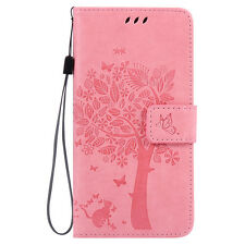New Flip Hybrid String Wallet Pattern PU Leather Case Cover For LG Optimus Phone