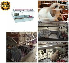 Large Rabbit Cages Pet Guinea Pig Habitat Chinchilla Small Animal Indoor House