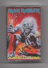 IRON MAIDEN - A real live one SEALED cassette 1995 Castle