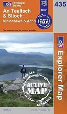 An Teallach and Slioch - OS Explorer ACTIVE Map 435 (NEW 2007 folded sheet map)