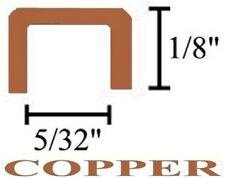 1/8 U Copper Came Channel - 12 feet + LOW SHIPPING