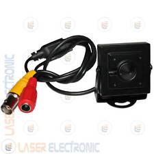 Mini Micro Telecamera Pinhole CCD Sony 700 Linee Filtro IR Led Invisibili 940nm