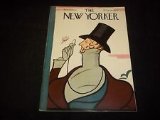 1950 FEBRUARY 25 NEW YORKER MAGAZINE - BEAUTIFUL FRONT COVER FOR FRAMING- J 1289