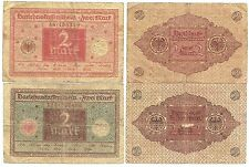IT_Germany-2x2 Mark-1920/Red and Brown on blue