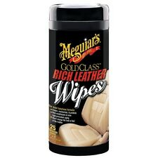 Meguiars Rich Leather Cleaner/Conditioner Wipes #G10900