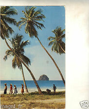Martinique - cpsm - Plage et rocher du Diamant (H8946)