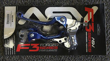 ASV F3 Brake Clutch Lever Set Blue Hot Start Honda CRF150R CRF250R CRF450R