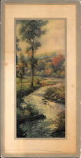 """Trees & Stream, """"The Haunts Of Peace"""", Salesman Sample Calendar For March 1925"""