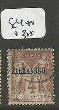 French Alexandria SC 4 VFU (2cpp)