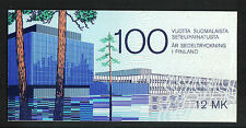 Finland 1985 Finnish Banknotes complete booklet--Attractive Topical (706) MNH