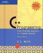 C++ Programming: From Problem Analysis to Program Design, Second Editi-ExLibrary