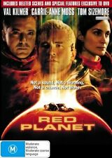 RED PLANET DVD Val Kilmer Carrie-Anne Moss Tom Sizemore SEALED R4
