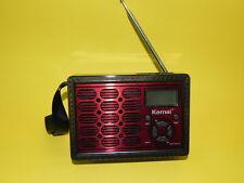 Radio e registratore portatile con lettore SD USB uscita Aux  stile retrò