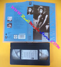 VHS MADONNA Burning up Borderline Lucky star Like a virgin (VM10) no mc dvd lp