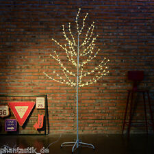 6ft Cherry Blossom Tree Light 200LED Warm White Light Pre Lit Branches For Xmas
