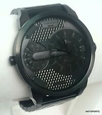 Diesel Unisex Mini Daddy Black Stainless Steel Bracelet Watch 46mm DZ7316