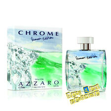 2013 Chrome Summer Edition by Azzaro 3.4 oz EDT for Men New In Box 100ml Spray