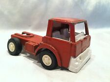 Vintage 1970 TOOTSIETOY Red Truck Cab Well Played With- Made In Chicago U.S.A.