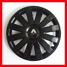 "15"" Renault Kangoo Modus WHEEL TRIMS COVERS  HUB CAPS  SET OF 4 x15''  black"