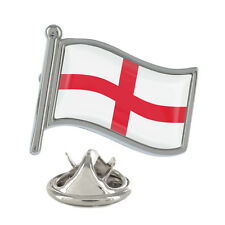 England Wavy Flag Pin Badge English St George Cross British UK New & Exclusive