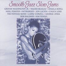 SMOOTH JAZZ SLOW JAMS - Various Artists CD ** Like New / Mint RARE **