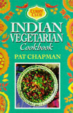Curry Club Indian Vegetarian Cook Book,ACCEPTABLE Book
