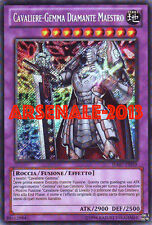 YU GI OH - CAVALIERE-GEMMA DIAMANTE MAESTRO - HA07-IT059 - RARA SEGRETA UNL MINT