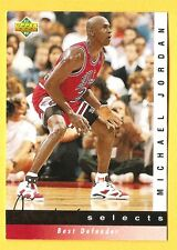 MICHAEL Air JORDAN 1992-93 Upper Deck Jerry West Selects #JW4 Chicago Bulls HOF
