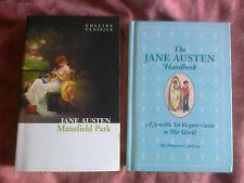 Mansfield Park  + The Jane Austen Handbook by Margaret Sullivan, NEW HB,