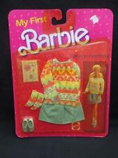 Mattel Barbie 1984 My First Barbie Fashions Outfit #7918 NRFB Sweater & Skirt