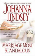 """""""MARRIAGE MOST SCANDALOUS"""" BY JOHANNA LINDSEY    PAPERBACK    NEW"""