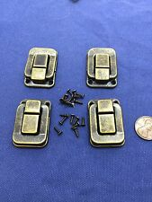 4 Pieces vintage style small box hardware lock latch box latches box catches B13