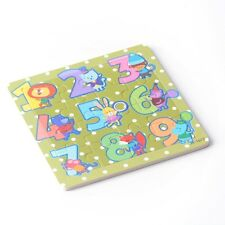 16pcs Wooden Puzzles Jigsaw Toddler Kids Early Learning Cartoon Educational Toy