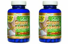 Pure Green Coffee Bean Extract 800mg w/ SVETOL Chlorogenic Acid Fat Burner GCA
